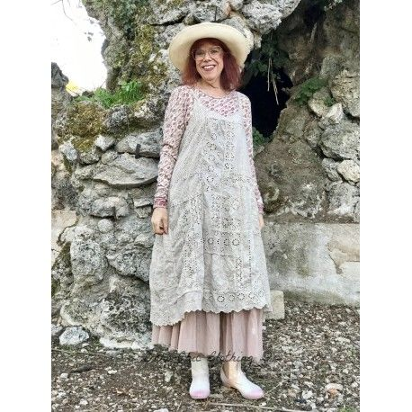 robe Lilian Slip in Antique White