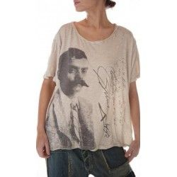 T-shirt Zapata in Moonlight