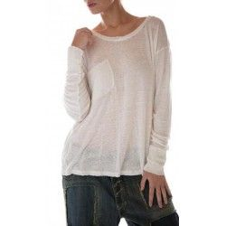 T-shirt Sofiane long sleeves in True