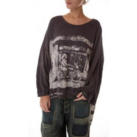 T-shirt Oversized Hi Lo Indian Moto Francis in Ozzy