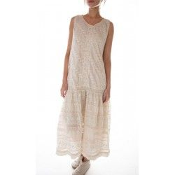 robe Livia Eyelet Slip in Moonlight
