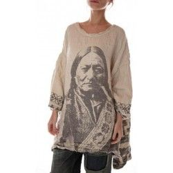 pullover Francis with 1875 Native American Graphics