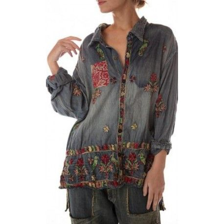 chemise Adison Workshirt in Coyoacan
