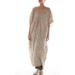 robe Lilian Kaftan in Antique White