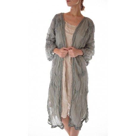 veste Constance Kimono in River Magnolia Pearl - 1