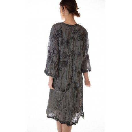 kimono Constance in Coal Magnolia Pearl - 1