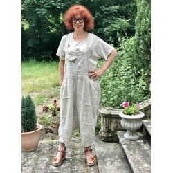 overall Eyelet Patchwork Frankie Overalls