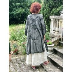 kimono Constance Kimono in Coal