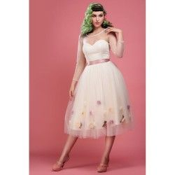 dress Flora Cream Collectif - 1