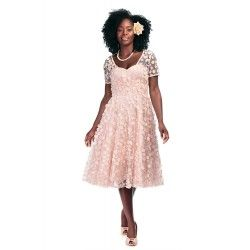 robe Nina Fleurs roses