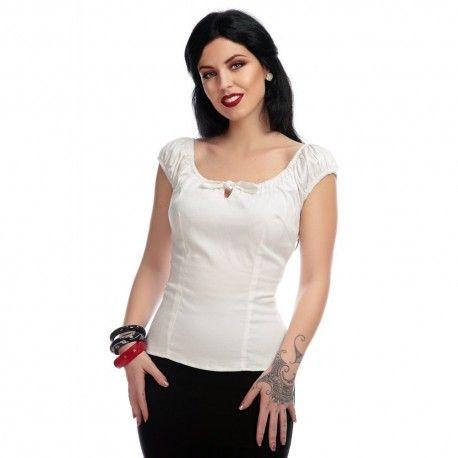 top Lorena Blanc Collectif - 1