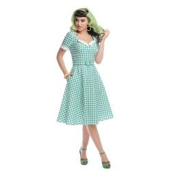 dress Roberta Green Gingham