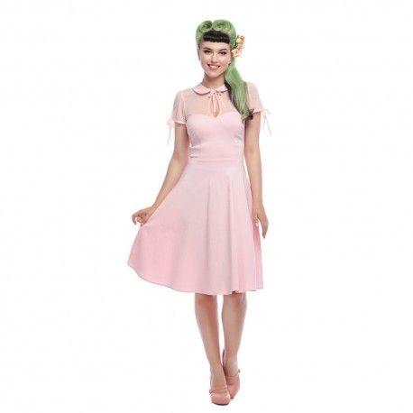 dress Kitten Pink Collectif - 1