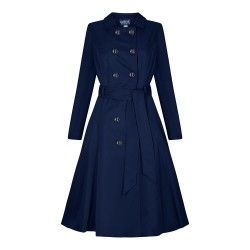 trench Korrina Navy