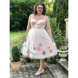 dress Flora Pink Collectif - 2