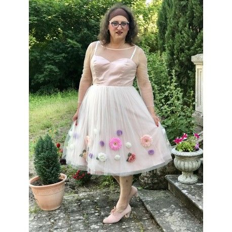 dress Flora Pink