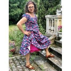 dress Dolores Flamingo