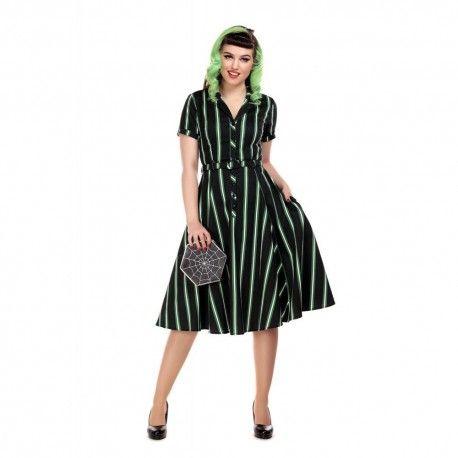 dress Caterina Witch Stripes