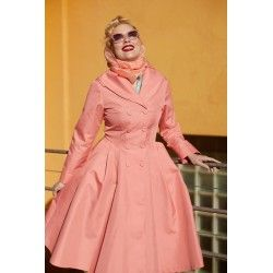 trench coat Cleobella Peach