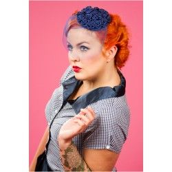 fascinator Frederica Dark Blue