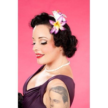 pince à cheveux Destinee Pink & Yellow Miss Candyfloss - 1