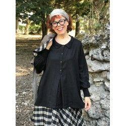 chemise ALINE twill noir