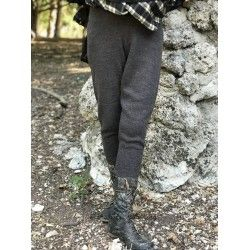 pants MELO charcoal wool