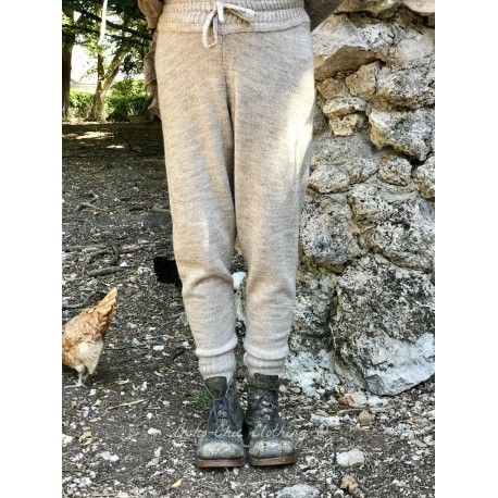 pants MELO taupe wool