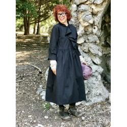 robe BASIL popeline noir