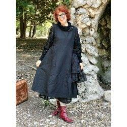 robe AGAPE lin noir