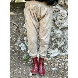 panty FANFAN coton rayé tilleul