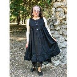 robe MOANA popeline noir