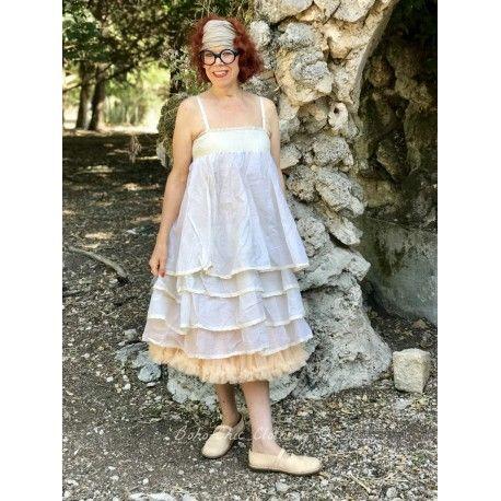 skirt petticoat MADELEINE ecru organza
