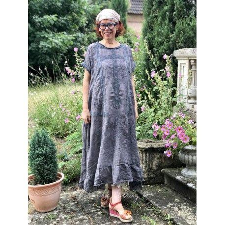 dress Ramie Anna Grace in Midnight