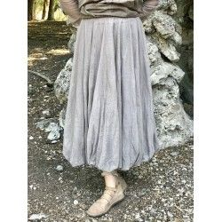 skirt CALI taupe tulle