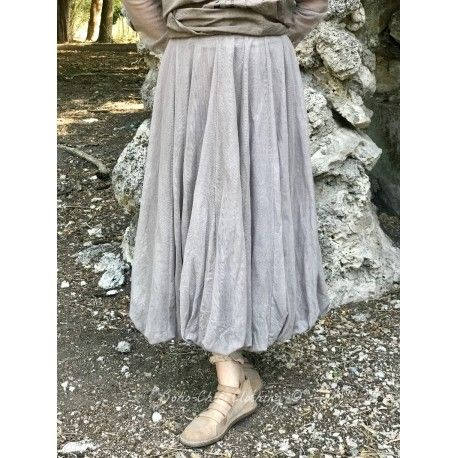 jupe CALI tulle taupe