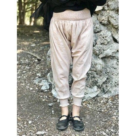 panty FANFAN coton rayé rose
