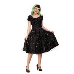 dress Dorothy Floral Rose