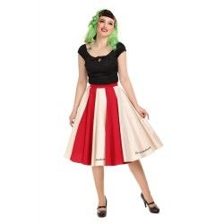 skirt Lola Le Cirque Red and Ivory