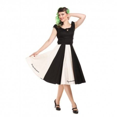 skirt Lola Le Cirque Black and Ivory