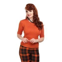pullover Chrissie Orange