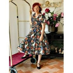 dress Caterina Forest Floral