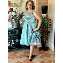 robe Emery Bleu ciel