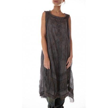 robe Ramie Anna Cecilie in Midnight