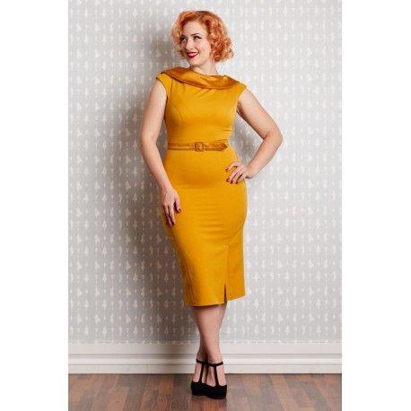 dress Rachel Mustard Miss Candyfloss - 1