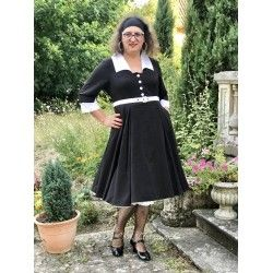 dress Amora Black & White