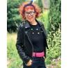 jacket Outlaw Foiled Biker Black
