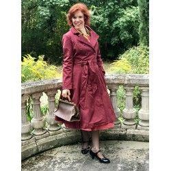 dress Korrina Burgundy