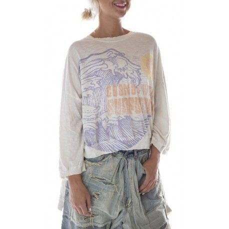 T-shirt Oversized CW Surfboards Hi Lo Francis in Moonlight