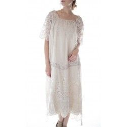 robe Virgie Eyelet in Moonlight